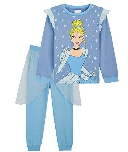 Disney - Pijama de princesa de algodón para niña, regalo para niñas