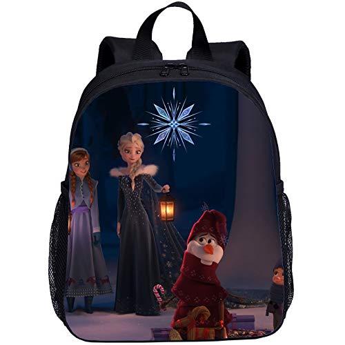 SL-YBB Frozen Frozen Nursery School Bag, Children's Animation School Bag, School Bags for Girls, School Bags for Boys, Z04 (Red) - SL-YBB1564HFH