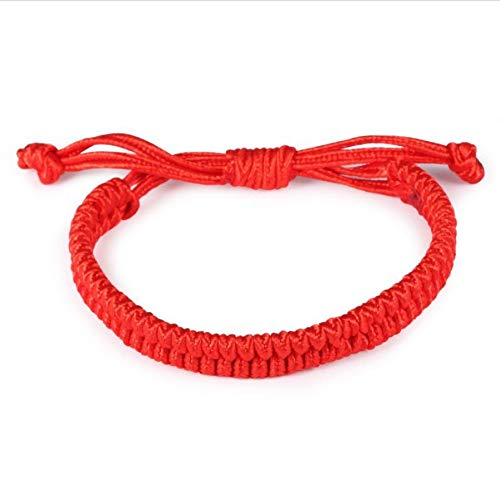 Armband Charms Viel Glück Rote Schnur Seil Schicksal Armbänder Freundschaft Mode Armreif Handgemachte Glückliche Kabel Armband Geschenk Schmuck