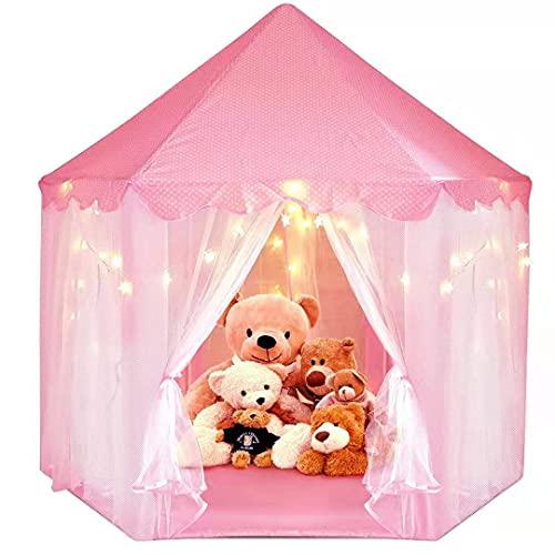 MAFA Tenda da Gioco per Bambini, con Borsa tote, Portatile Castello della Principessa ,Facile da Montare