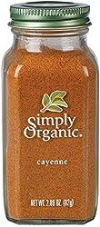 Simply Organic Cayenne Pepper, 82g