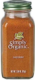 Simply Organic Cayenne Pepper, Certified Organic   2.89 oz   Capsicum annuum L.