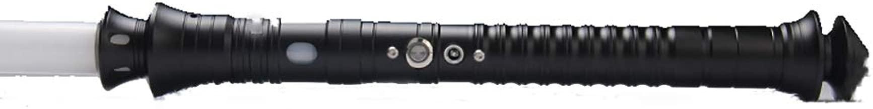 BoMan LED Light Saber Force FX Lightsaber con Sonido y luz Metal Hilt Wars Sword Toy Realistic Light y Blaster Sound, Regalo para niños y Adultos