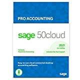Sage 50cloud Pro Accounting 2021 U.S. One Year Subscription Cloud Connected Business Accounting Software