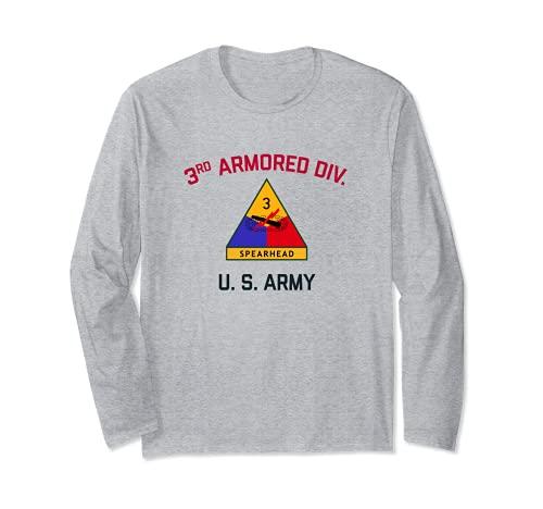 アメリカ陸軍第3兵隊 「スピアヘッド」 | WW2 ヴィンテージタンク 長袖Tシャツ