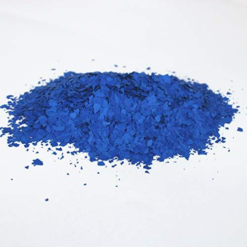 BEKATEQ BK-130 Farbchips, 500g Blau/Dunkelblau, Dekochips für Epoxidharz Bodenbeschichtung, Bodenfarbe