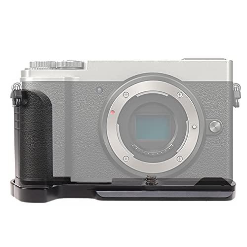 FOTGA Vertical Shoot Placa de liberación rápida en forma de L Soporte de mano para Panasonic LUMIX GX7II/GX7III/GX80/GX85/GX9 Cuerpo de cámara compatible con Arca-Swiss Standard