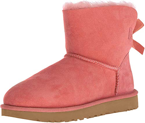 UGG Damen W Mini Bailey Bow II modischer Stiefel, Lantana, 39 EU