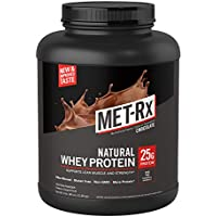MET-Rx Natural Whey Chocolate 5 Lb Protein Powder (Chocolate)