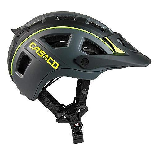 CASCO MTBE 2 Fahrradhelm, Farbe:schwarz-neongelb matt, Größe:M