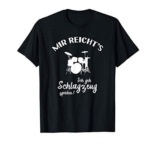 Schlagzeuger Drummer T-Shirt: Ich Geh Schlagzeug Spielen! T-Shirt