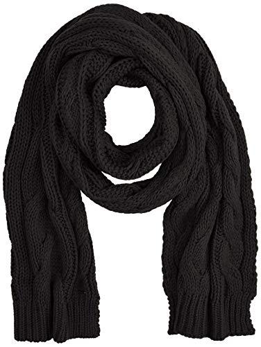 BOSS Damen Neosa Schal, Schwarz (Black 001), One Size (Herstellergröße: STÜCK)