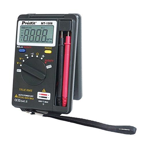Eclipse Tools MT-1506 Pocket True RMS Auto Range Multimeter