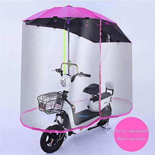 Universele Outdoor elektrische motorfiets regenhoes, Motorcycle Volledig gesloten overkapping, elektrische fiets, waterdichte zonnescherm, regenparaplu