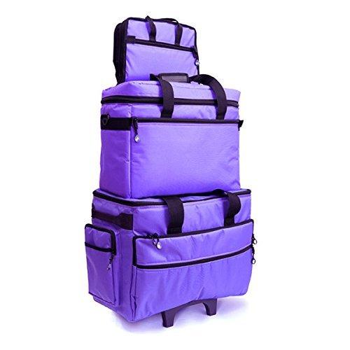 bluefig tb19máquina de coser bolsa de Carrier/proyecto/concepto bolsa (morado)