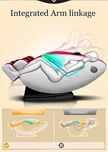 Sillón de masaje Masaje, Masajeador totalmente automática silla de masaje de cuerpo completo 4D de gravedad cero Automático inteligente Cápsula Sofá de múltiples funciones ,Multifunción Masaje intelig