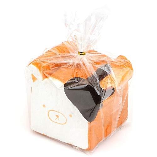 MAID Matschig Spielzeug New 11CM Jumbo Squishy Rilakkuma Squishy Schokolade Toast Phone Straps-Spielzeug-Geschenk Collectibles mit Umbau Squeeze Spielzeug (Size : As The Picture)