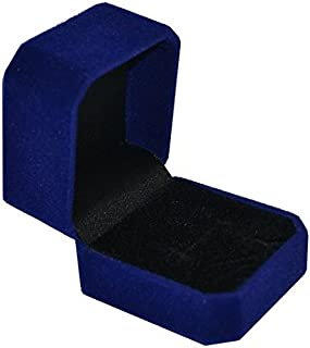 Velvet Ring Box – Jewelry Display & Gift Box - Removable Insert & Soft Lining - Engagement Ring Case & Organizer by Geff House