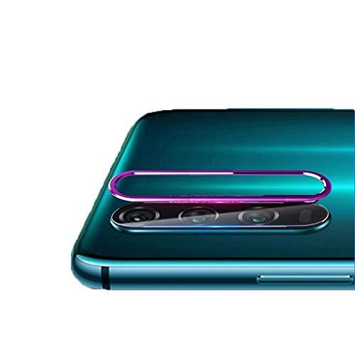 YGMO SMSE AYD Scratchproof Mobile Thone Metal Torero Lente de la Lente de la Lente de la Lente de cámara Trasera Conjunto de película Protectora para Huawei Honor 20 Pro (Color : Purple)