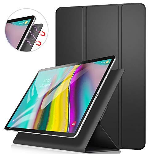 ZtotopHülle Hülle für Samsung Galaxy Tab S5e 10,5 Zoll (T720/T725),Magnetisches Ultra Schlank leichte & Klappständer Schutzhülle,mit Automatischem Schlaf/Aufwach für Galaxy Tab S5e Tablette,Schwarz