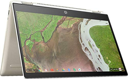 2020 HP Chromebook x360 Laptop Computer 8th Gen Intel Core i3-8130U up to 3.4GHz (Beat i5-7200U) 8GB DDR4 RAM 64GB eMMC 14