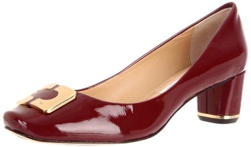 Diane von Furstenberg Women's Bonnie, Bordeaux Patent, 8.5 M US