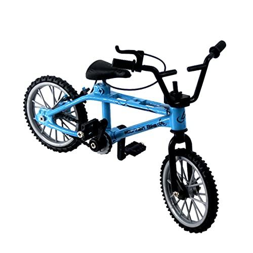 Mini-Finger-BMX Set Bike Fans Toy Aleación Dedo BMX Funcional Niños Bicicleta Dedo Bicicleta BMX Juguetes Regalo