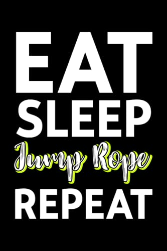 Lined Notebook Journal Retro Eat Sleep Jump Rope Repeat Skipping Jumping Roping: Budget Tracker,Gym,6x9 in,Goal,2021,Christmas Gifts,Tax,Meeting,2022,Halloween,Thanksgiving,Management