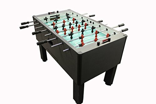 Buy Gold Standard Games Home Pro Foosball Table (Charcoal (QPQ Stainless Steel Rods-Black Handles))