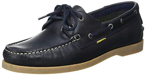 camel active Herren Sweep Low lace Shoes Mokassin, Navy Blue, 40 EU