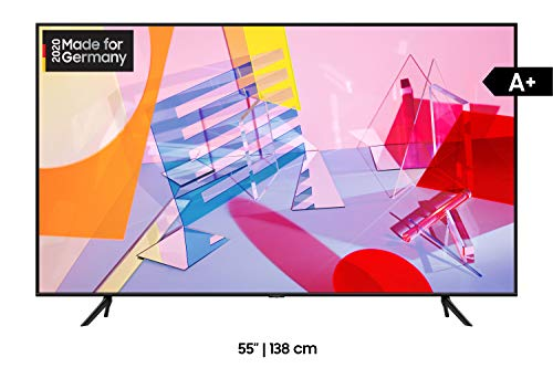 Samsung QLED 4K Q60T 138 cm (55 Zoll) (Quantum Dot, Dual LED, Quantum HDR) [Modelljahr 2020]