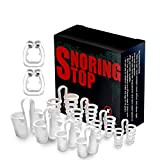 Anti snoring Devices Stop snoring snoring Solution clipple Anti snoring Device Mini Silicone Magnetic New Upgrade Anti Snore Nose Clip (Snoring kit-901A)