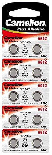 Alkaline Knopfzelle CAMELION AG12/LR43/LR1142/386