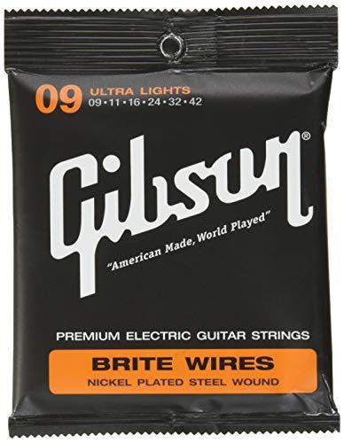 Gibson Gear SEG-700UL Brite Wires Saiten .009 - .042