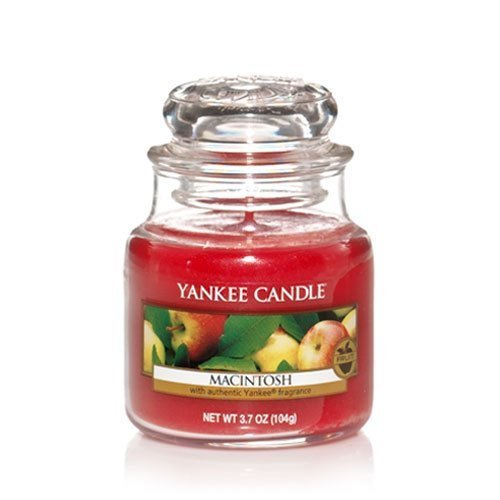 Yankee Candle Macintosh Small Jar Candle, Fruit Scent