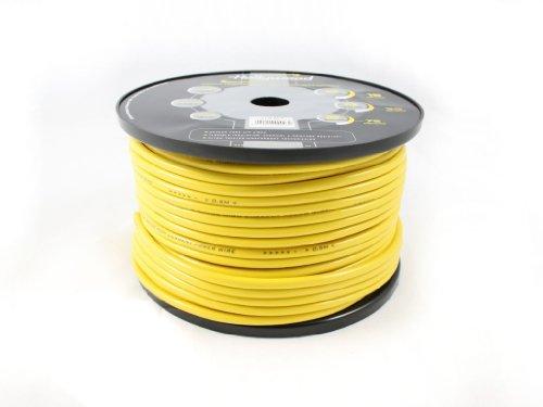 Hollywood Energetic 10mm2 Stromkabel - Powerkabel, Farbe:schwarz