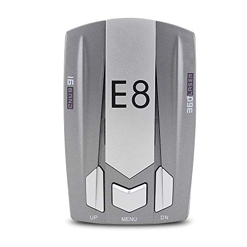 Radar Detectors for Cars, Police Radar Detector Radar with LED Display, Car 360 Degree Automatic Detection, Voice Alerts