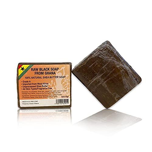 African Black Soap - 6 oz / 170 g -…