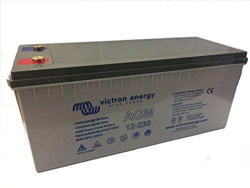 Victron Energy - Puissante batterie de loisir AGM Super Cycle 230Ah