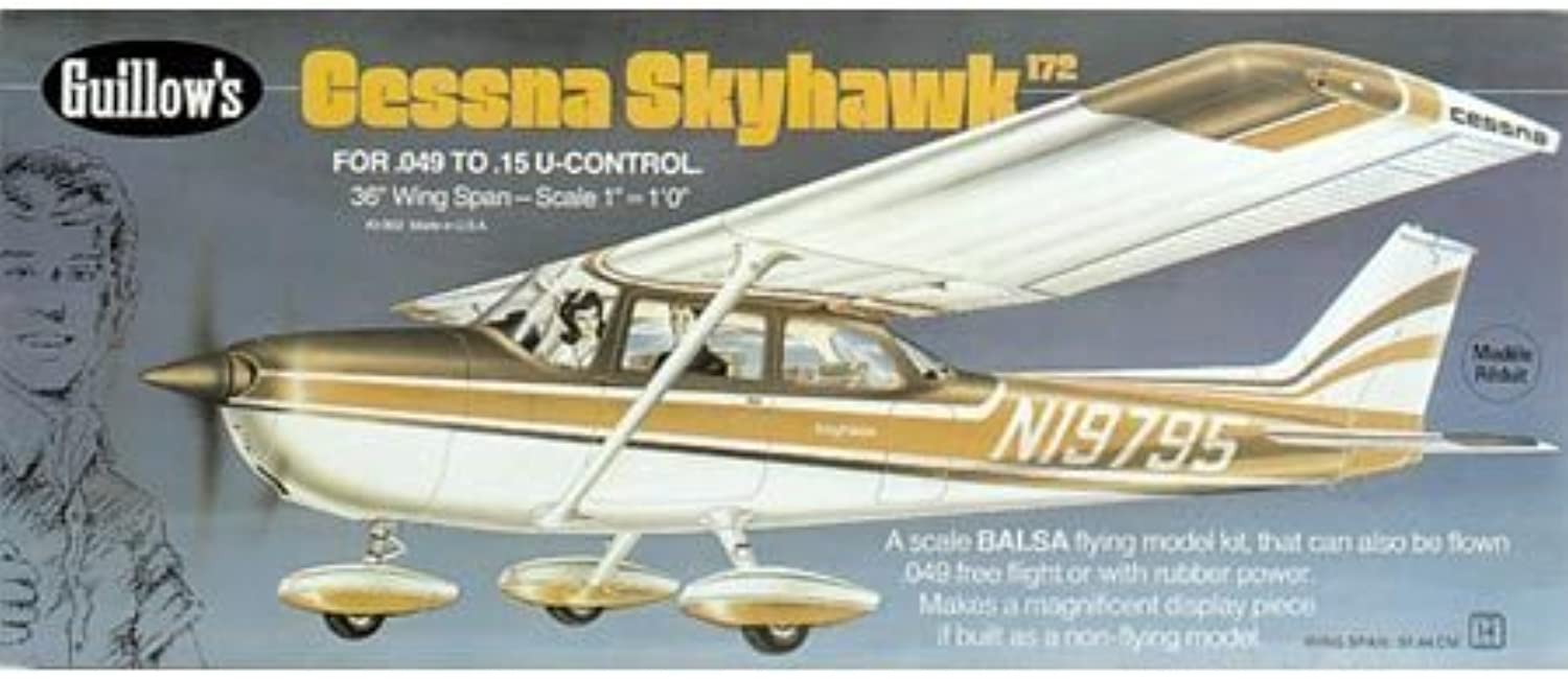 Guillow's Cessna Skyhawk Model Kit by Flat River Group