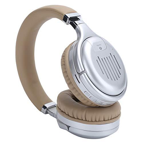 Pwshymi Auriculares TM-061 Inalámbrico Bluetooth con Diadema Compatible Teléfono móvil Computadora portátil Tableta