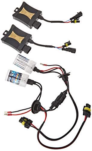 Akhan Digital 9-32V 35W CANBUS Xenon Kit Nachrüstsatz H7 10000 Kelvin inkl. HID Vorschaltgerät, Xenon Brenner Lampe und Montage Material ohne Fehlermeldung und ohne Flackern