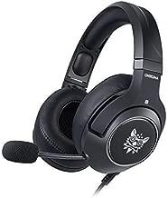 Gaming Headset (Black) for PC, Mac, Xbox 360, Xbox One, Playstation 3, Playstation 4, Wii U, and Nintindo Switch. Onikuma RGB K9