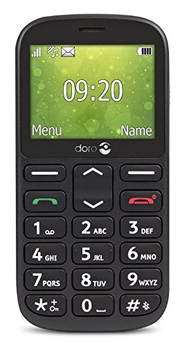 Doro 7380 - 1360 BLACK 2.4IN 8MB GSM - DUAL SIM IN