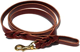 Best amish braided leather dog leash Reviews