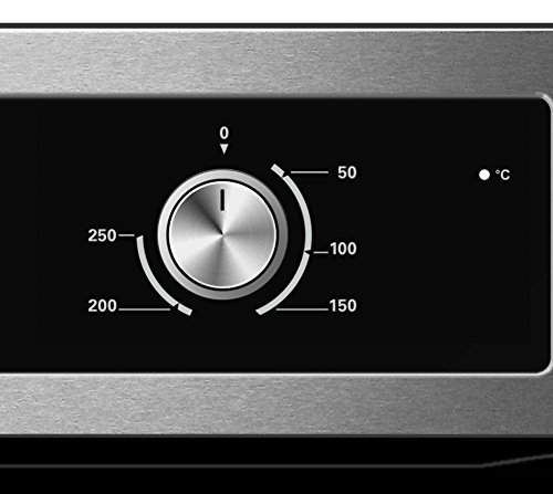 416p9fAE9vL - Cookology Built-in Electric Single Fan Oven in Stainless Steel with Minute Minder | COF600SS