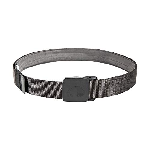 Tatonka Travel Waistbelt 30mm Geldgürtel, Titan Grey, 130 x 3 cm