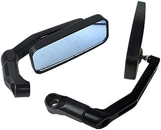 Ocamo Espejo retrovisor para Bicicleta/Bicicleta eléctrica/Scooter/Silla de Ruedas/Andador/Cochecito/Moto/Espejo retrovisor Azul para Suzuki