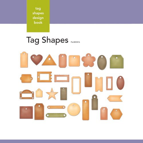 Xyron Tag-Shapes Design Book for Xyron Personal Cutting System