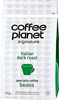 Coffee Planet Signature Italian Dark Roast Coffee Beans - 250 gm